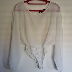 Forever 21 Contemporary Blouse Bodysuit Size XS